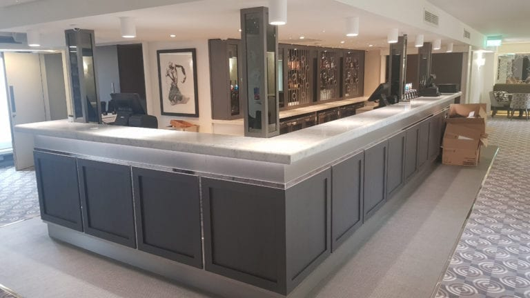 A quartz countertop created by Corrib Stone Creations, Galway's Leading Manufacturers & Suppliers Of​ Granite, Quartz & Marble Worktops